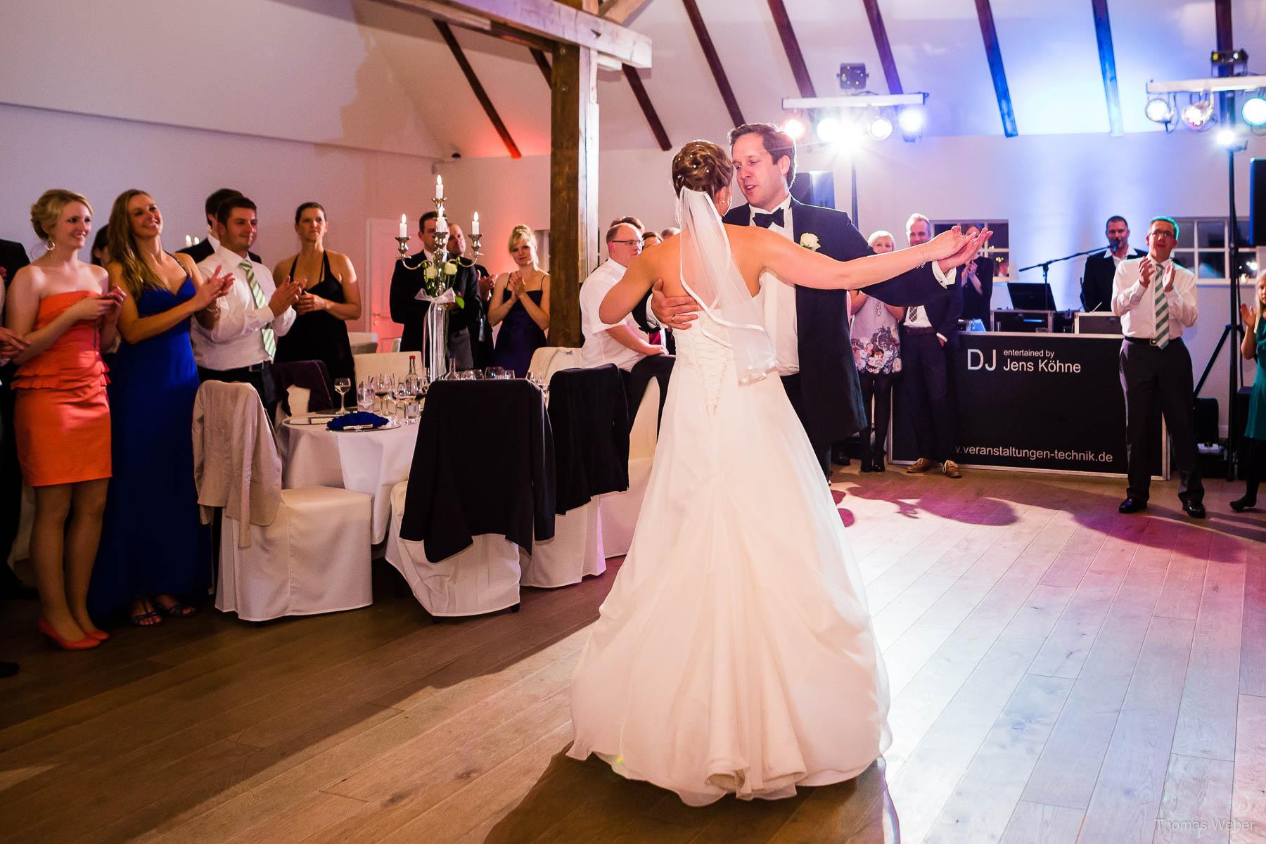 Hochzeit in der St-Ulrichs-Kirche in Rastede und Hochzeitsfeier in der Eventscheune St. Georg Rastede