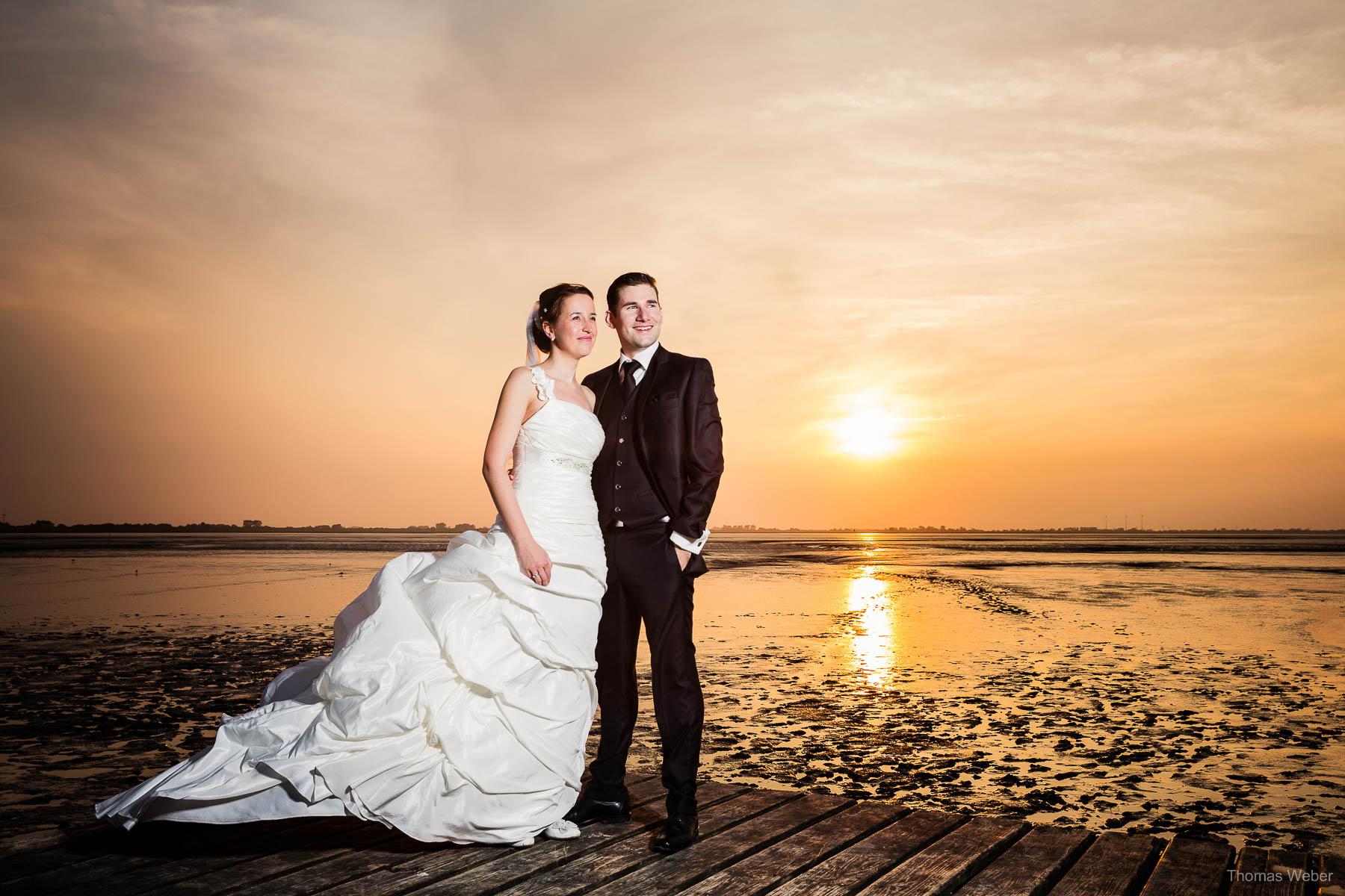 After Wedding Shooting in Ostfriesland Dangast Varel