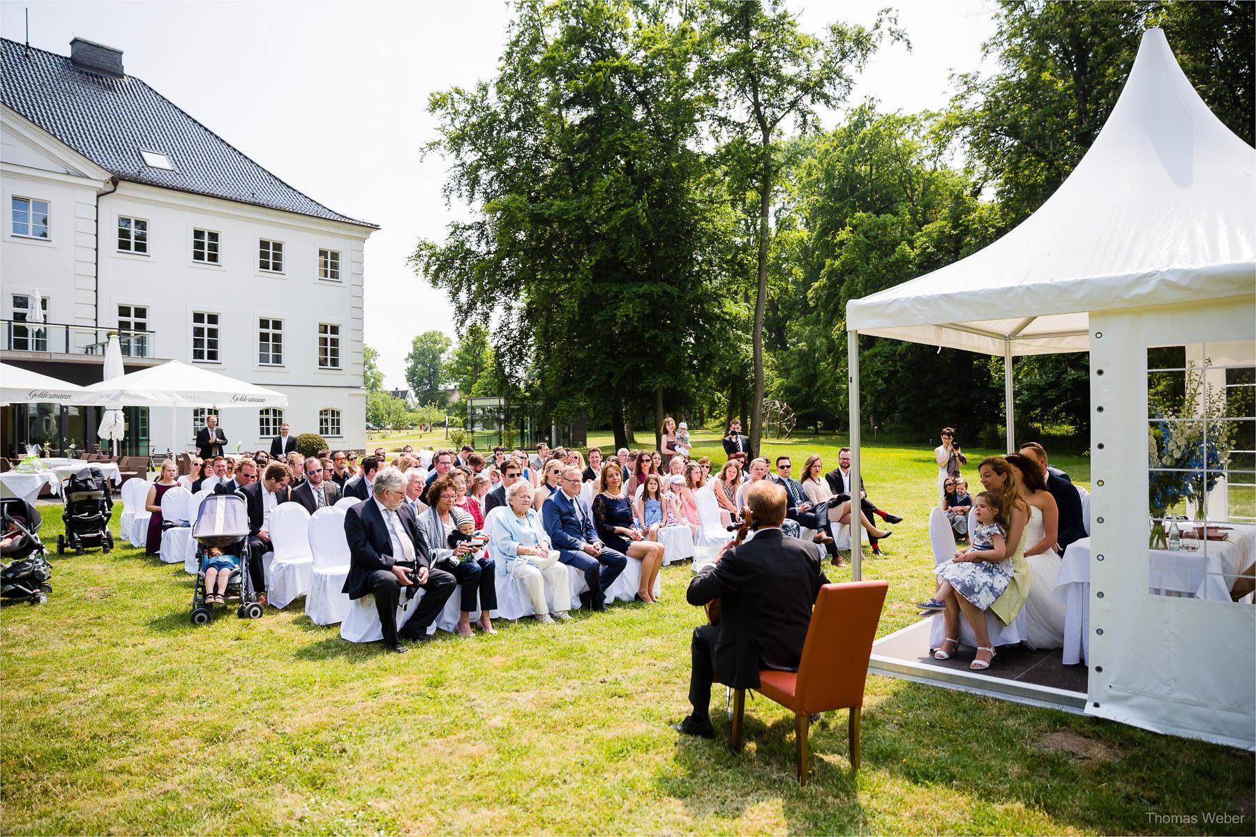 Als Hochzeitsfotograf auf Schlossgut Gross Schwansee an der Ostsee