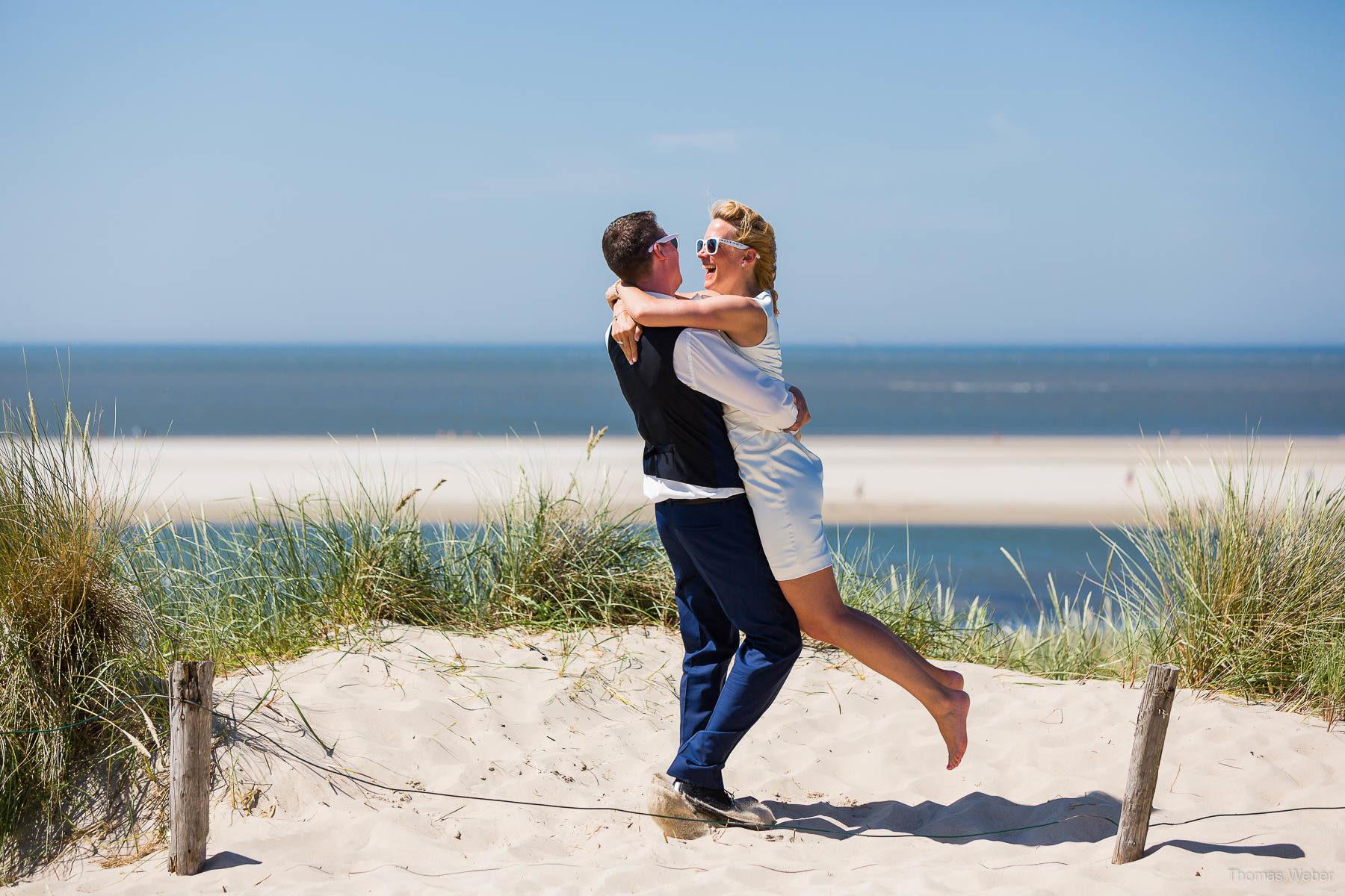 Hochzeitsfotos auf Langeoog, Hochzeitsfotograf Ostfriesland