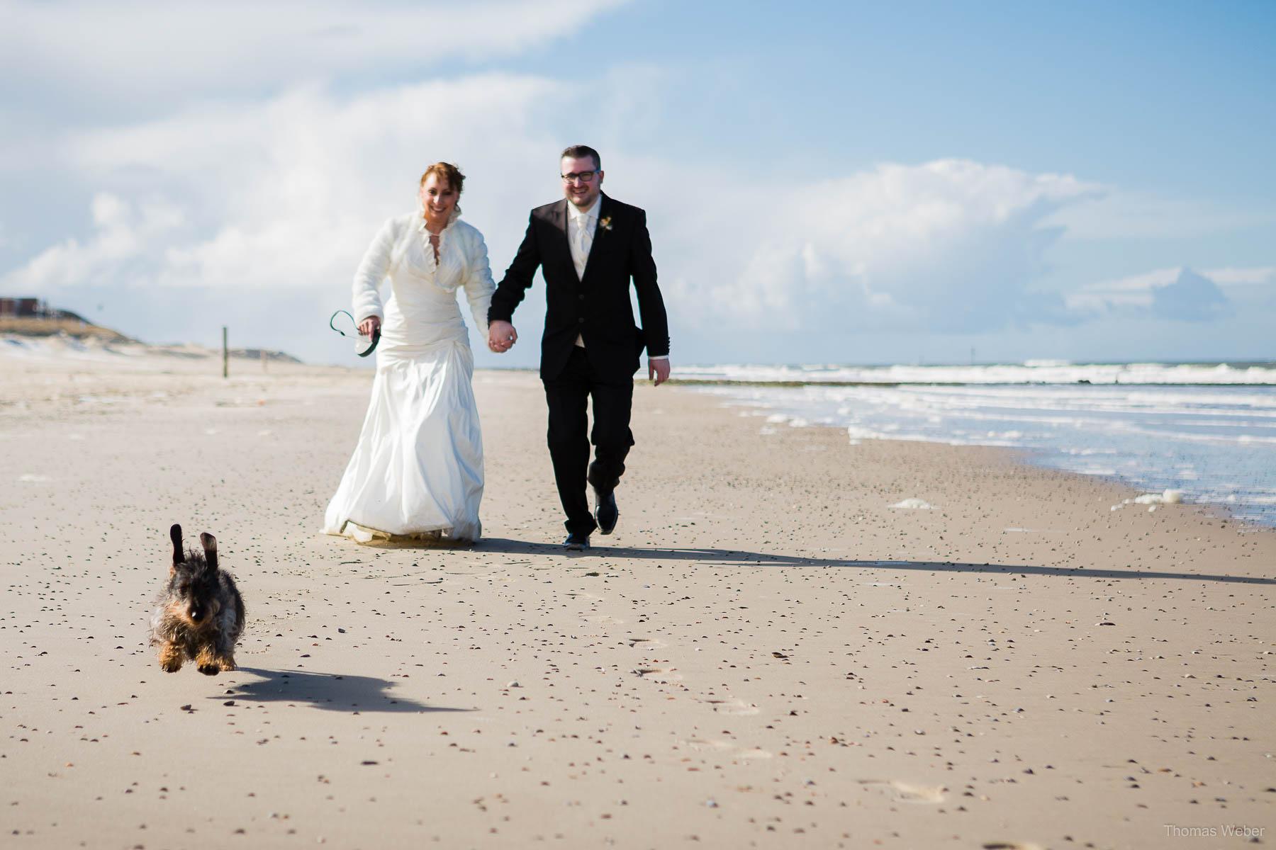Hochzeitsfotograf Ostfriesland für schöne Hochzeitsfotos auf der Nordseeinsel Borkum, Heiraten auf Borkum