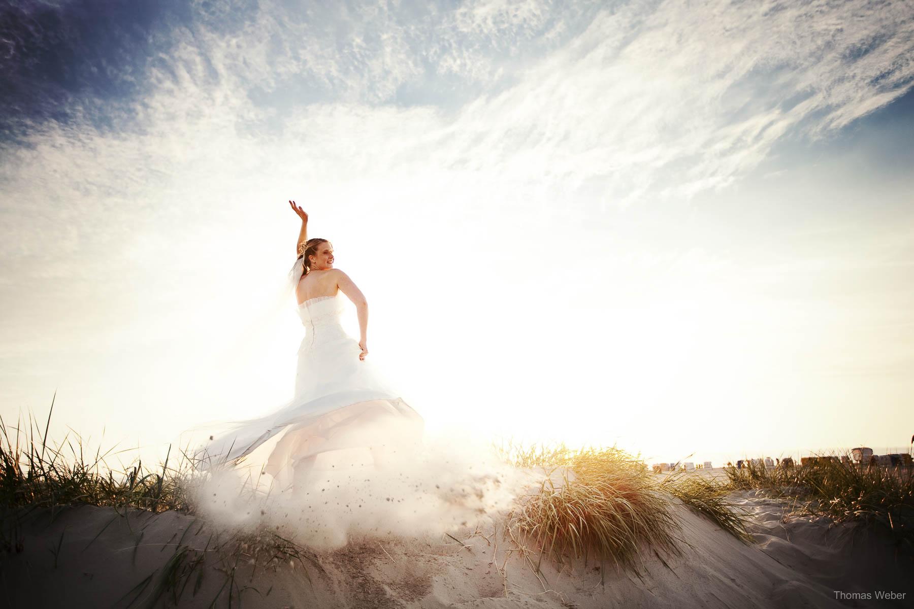 Hochzeitsfotograf Ostfriesland für schöne Hochzeitsfotos auf den Inseln der Nordsee