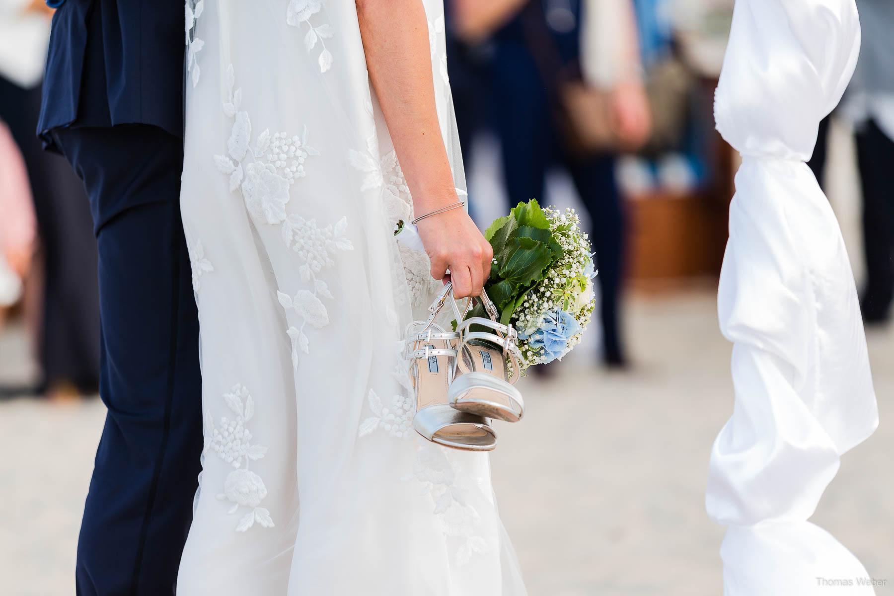 Hochzeitsfotograf Ostfriesland für schöne Hochzeitsfotos auf der Nordseeinsel Spiekeroog, Heiraten auf Spiekeroog