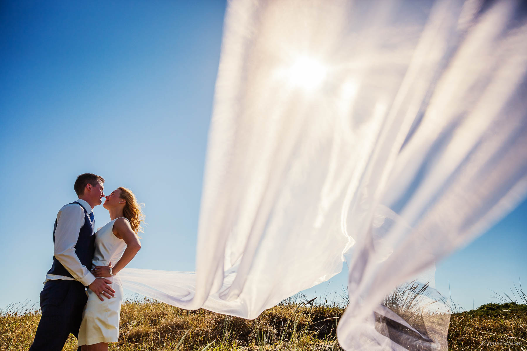 Hochzeitsfotograf Ostfriesland für schöne Hochzeitsfotos auf der Nordseeinsel Norderney, Heiraten auf Norderney