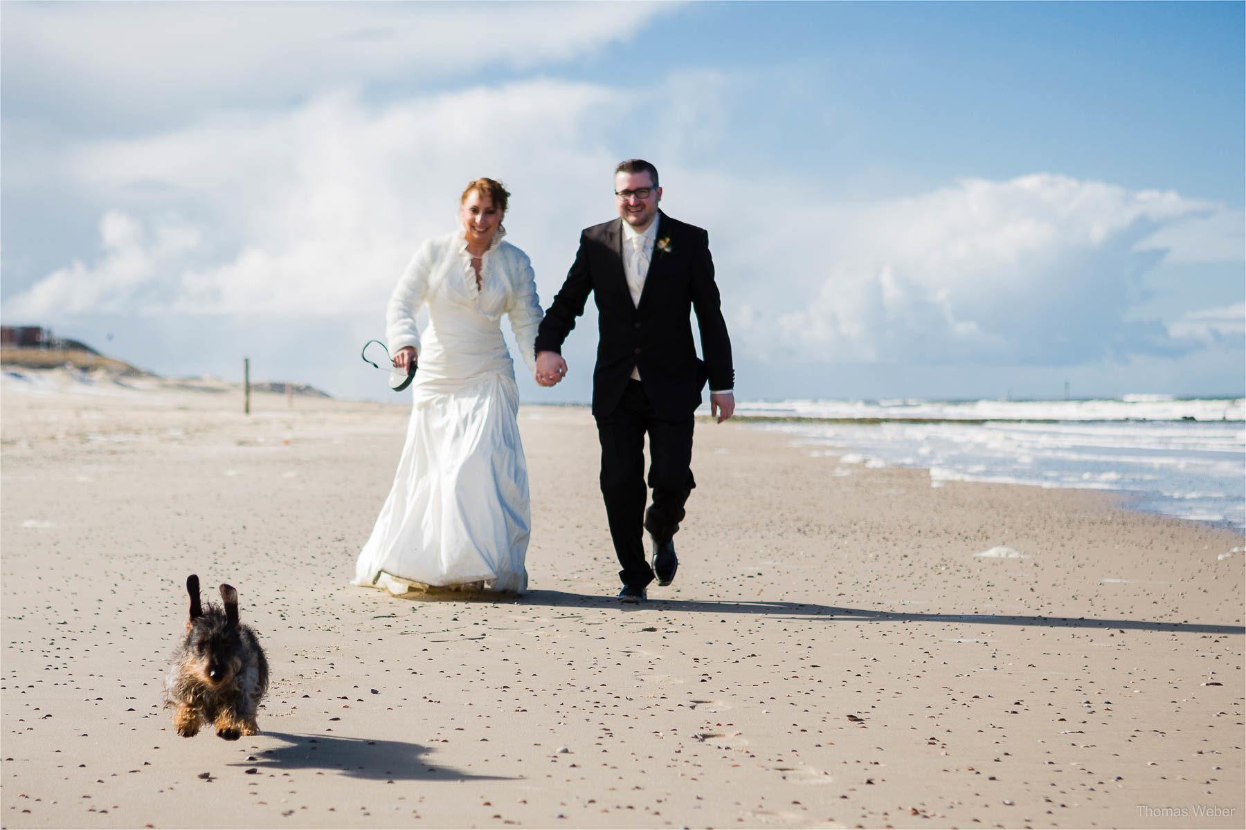 Als Hochzeitsfotograf auf Wangerooge, Ostfriesland