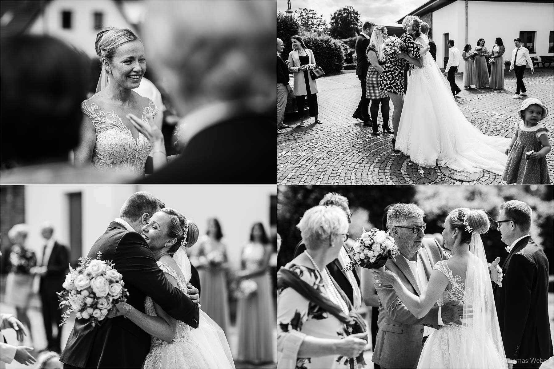 Kirchliche Hochzeit und Hochzeitsfeier, Hochzeitsfotograf Ostfriesland, Thomas Weber